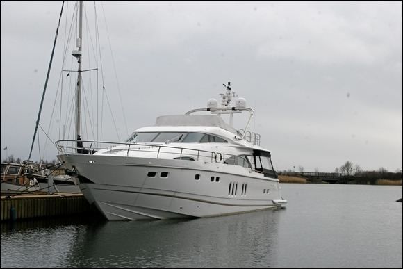 Stein Baggers båd