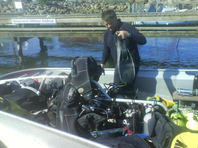 Dykkeres rod....