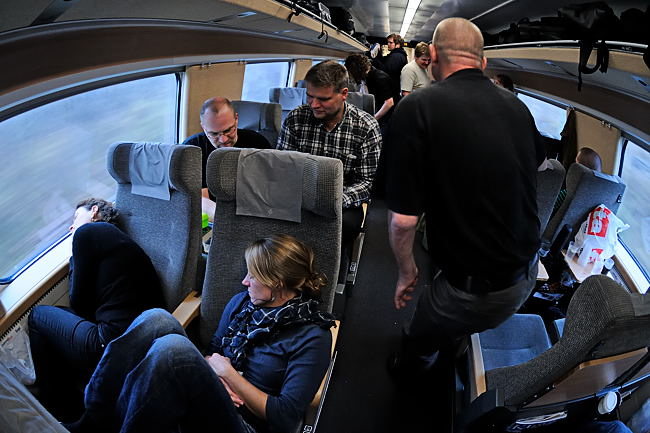 Hygge på vej mod Stockholm