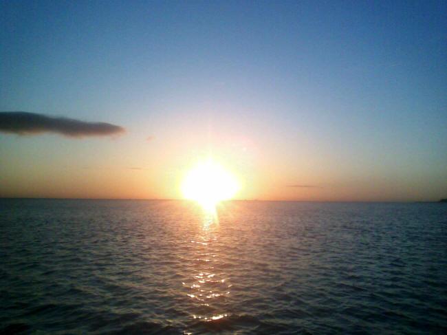 Solnedgang over Øresund