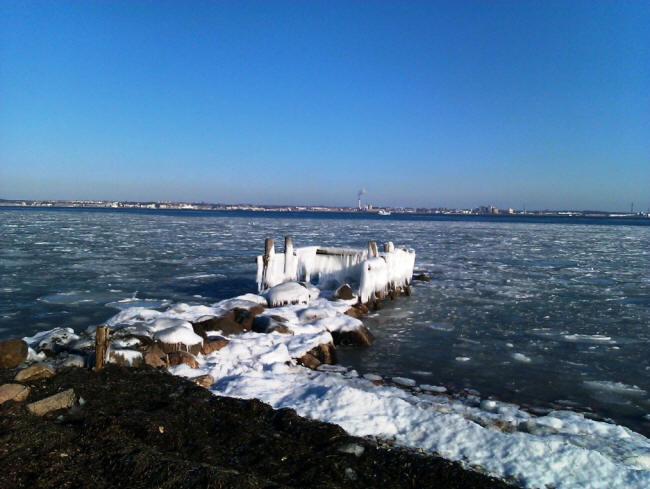 Is omkring Helsingør