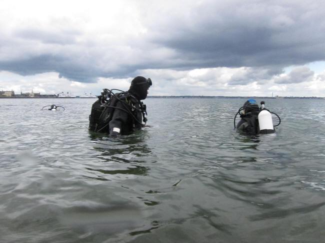 Friske dykkere næsten klare
