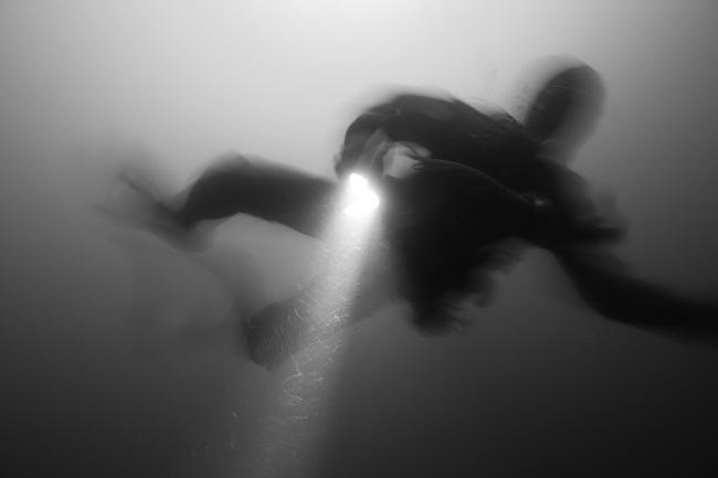 Dykker i dybet
