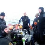 Årets første dyk