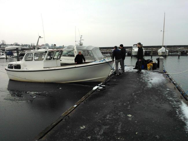 Vinter i havnen