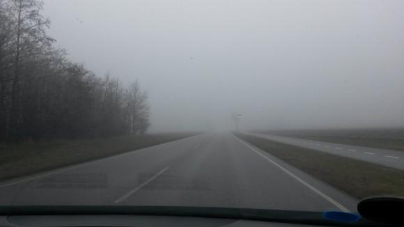 Udsigsløst vejr