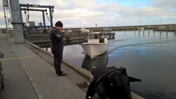 Så var der bådtur til de heldige...
