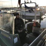 Landgangsbåden & Betonprammen d. 6/1 2019