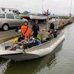 Bådtur til hullet i Heerslev d. 29/2 2020